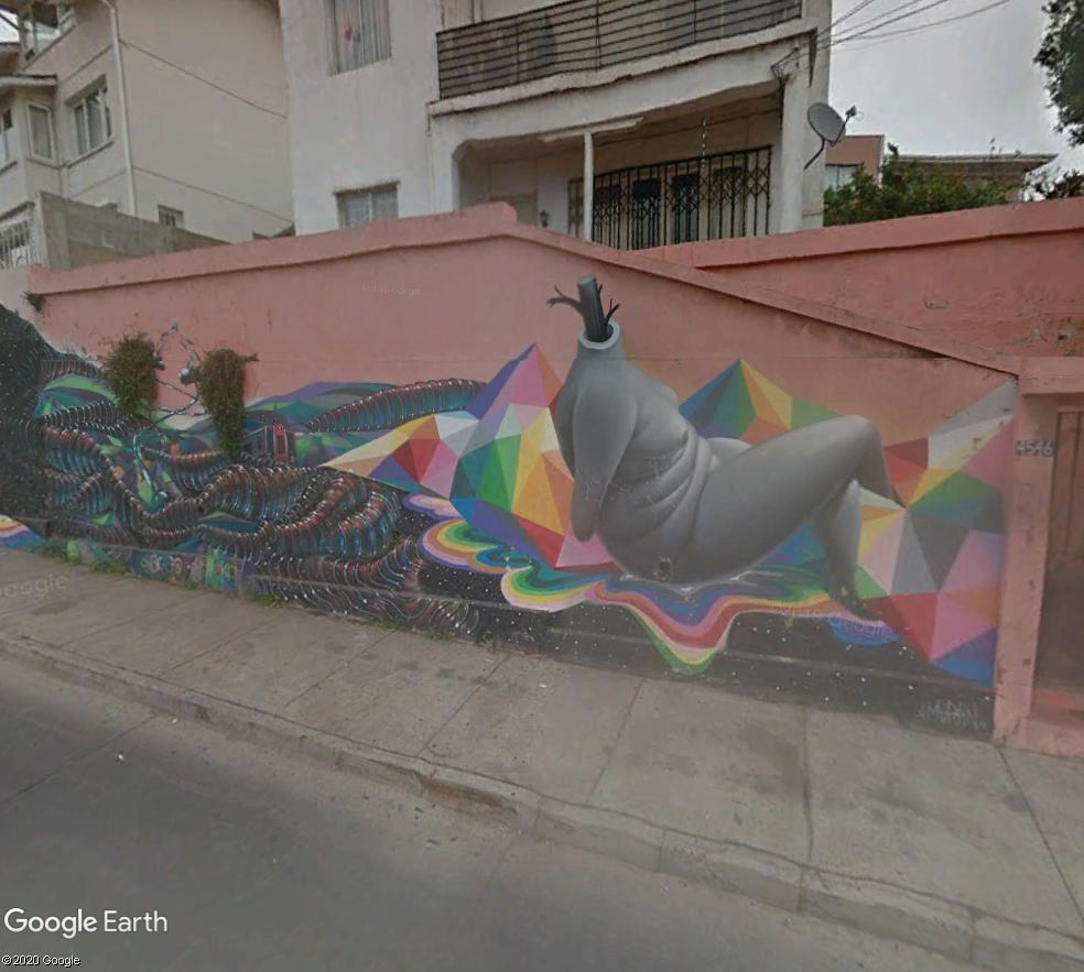 STREET VIEW : les fresques murales - MONDE (hors France) - Page 26 Visage11