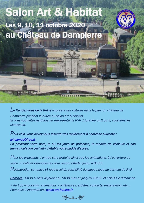 Salon Art & Habitat Château de Dampierre, 9-10-11 octobre 2020 Arthab10