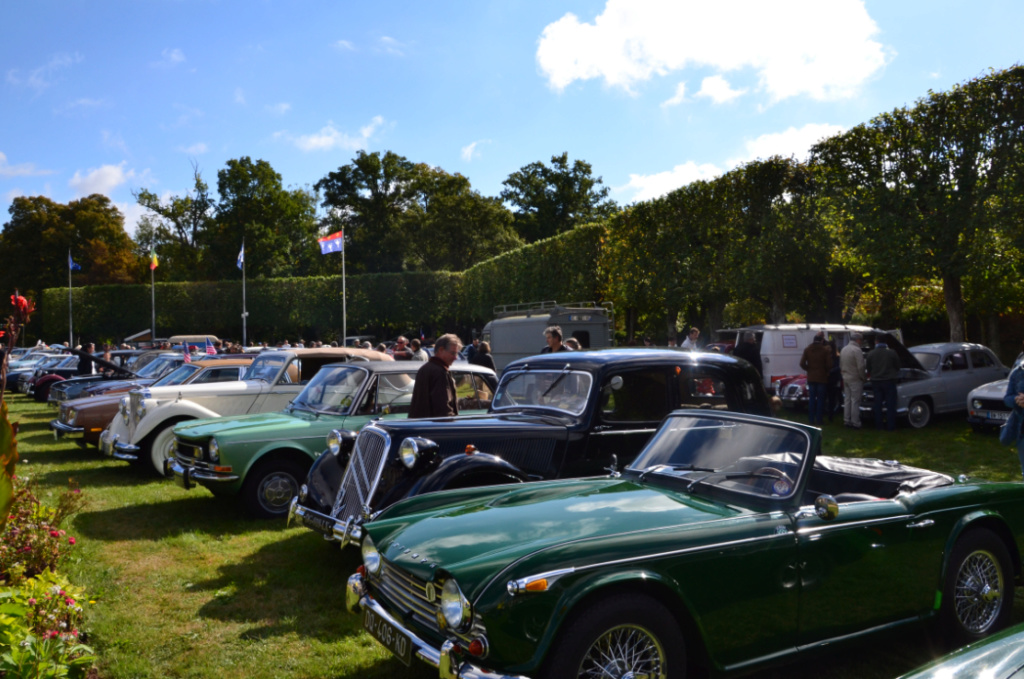 Festival de voitures anciennes de Dourdan 2018 Dourda10