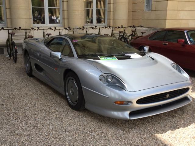 Concours d'élégance aux 50 ans du Club Jaguar France Img_1434