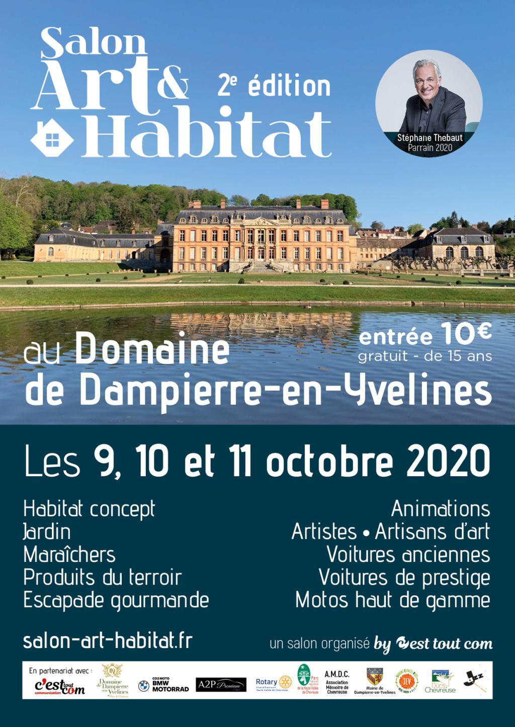 Salon Art & Habitat Château de Dampierre, 9-10-11 octobre 2020 Salon_10