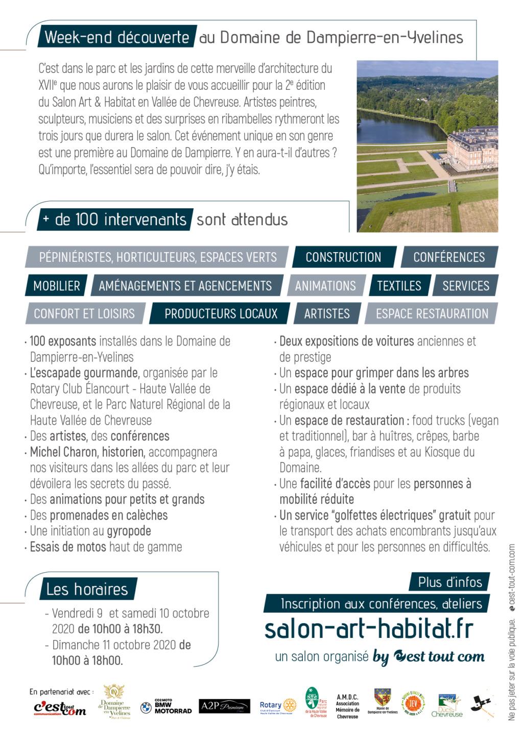 Salon Art & Habitat Château de Dampierre, 9-10-11 octobre 2020 Salon_11