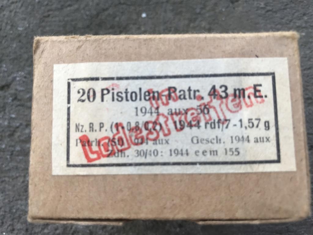 7,92 x 33 Kurz Patrone - Pistolen Patrone 43 m.E 1_boit12