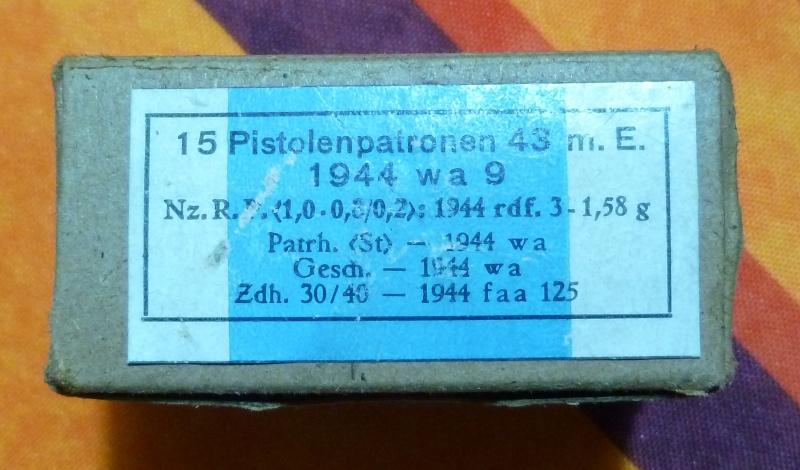 7,92 x 33 Kurz Patrone - Pistolen Patrone 43 m.E 4_pist10