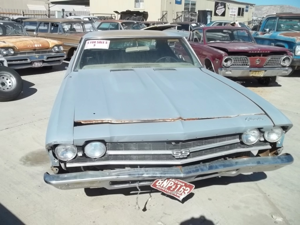 cheap 73 Chevelle project - Los Angeles area $1500!!! 100_4712