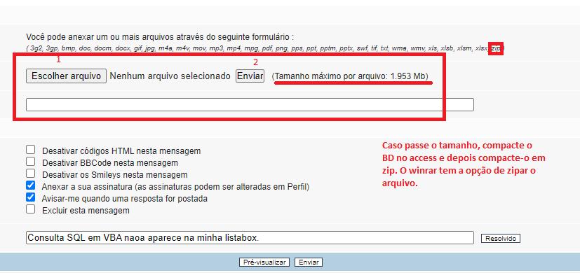 Consulta SQL em VBA não aparece na minha listabox. Fig110