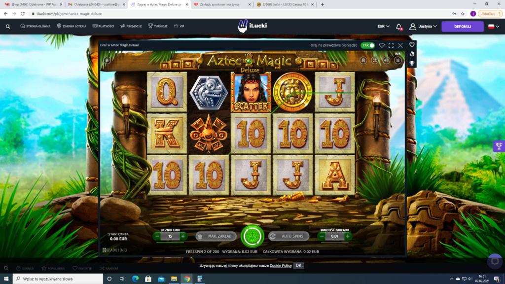 iLUCKI Casino 10 free spins no deposit bonus 2021-011