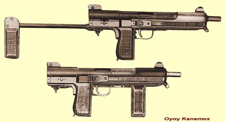 Pistola Ametralladora Mendoza Mex-0710
