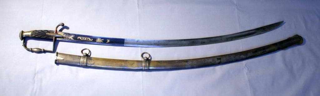 sabre de cavalerie légère pommeau cotes de melon B5_o_c10