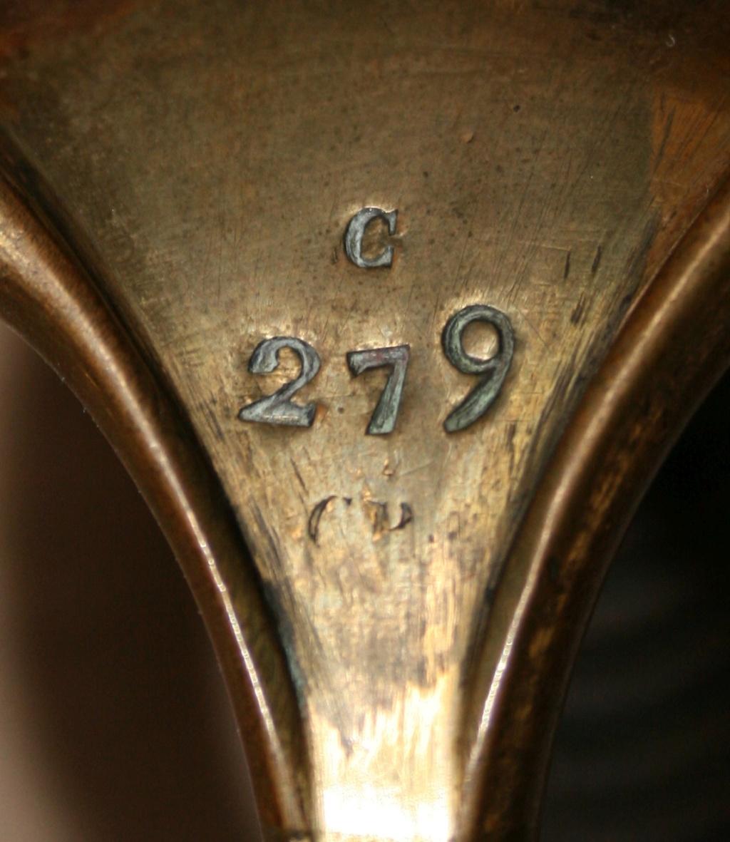 Sabres d'officier matriculés, au Modèle 1822 de ligne : point de situation Marqua11