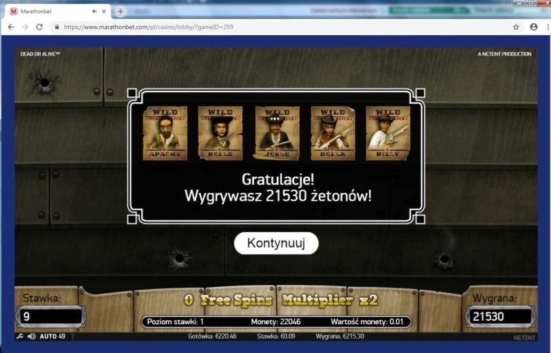 Screenshoty naszych wygranych (minimum 200zł - 50 euro) - kasyno - Page 20 Kowboj12