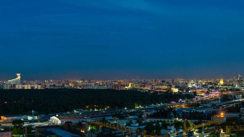 """Реальные панорамы из окон квартир ЖК """"Серебряный фонтан"""" (день, ночь) 1210"""