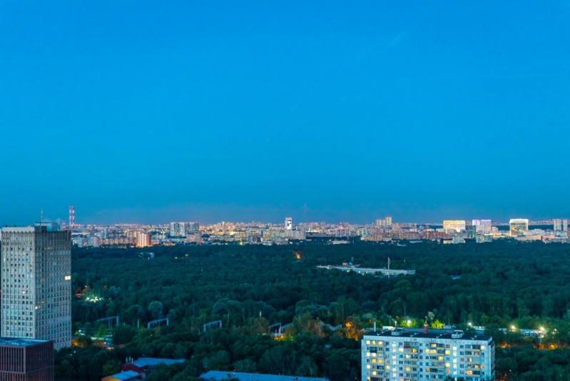 """Реальные панорамы из окон квартир ЖК """"Серебряный фонтан"""" (день, ночь) 710"""