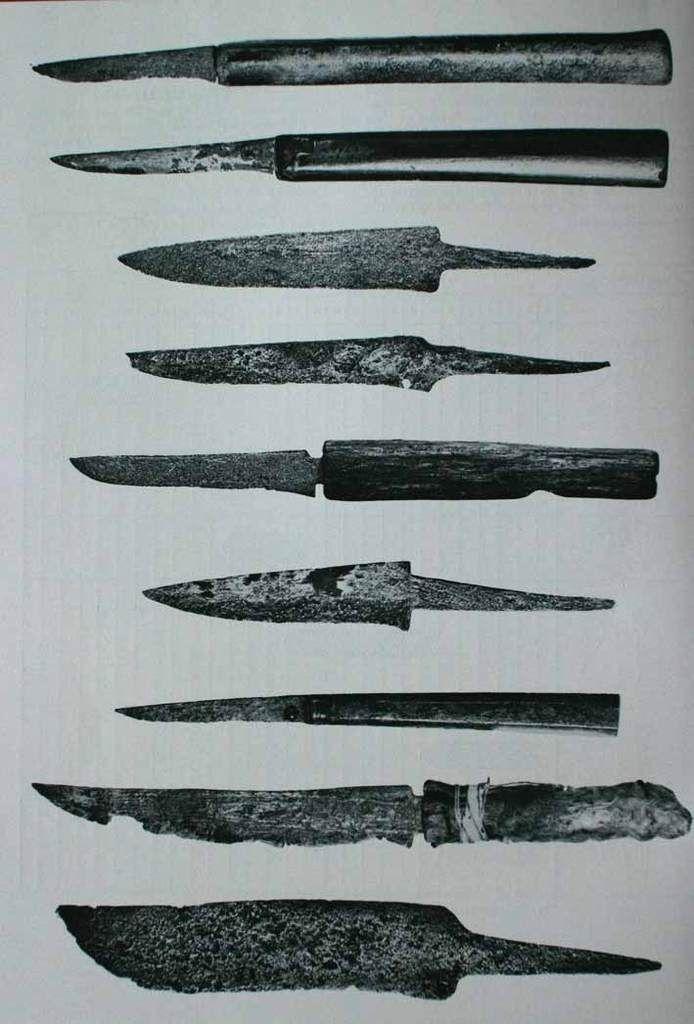 Cuchillo sencillo estilo medieval. Cuchil10
