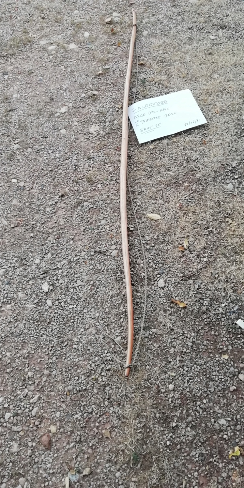 Arco longbow recurvado. Img_2113