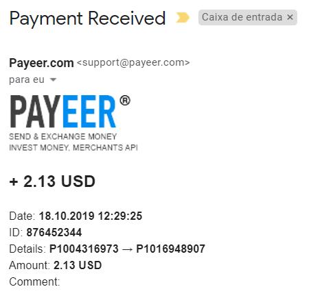 OPORTUNIDADE  [PROVADO] Mizes - Plataforma minedora de BTC, ETH entre outras... Payeer10