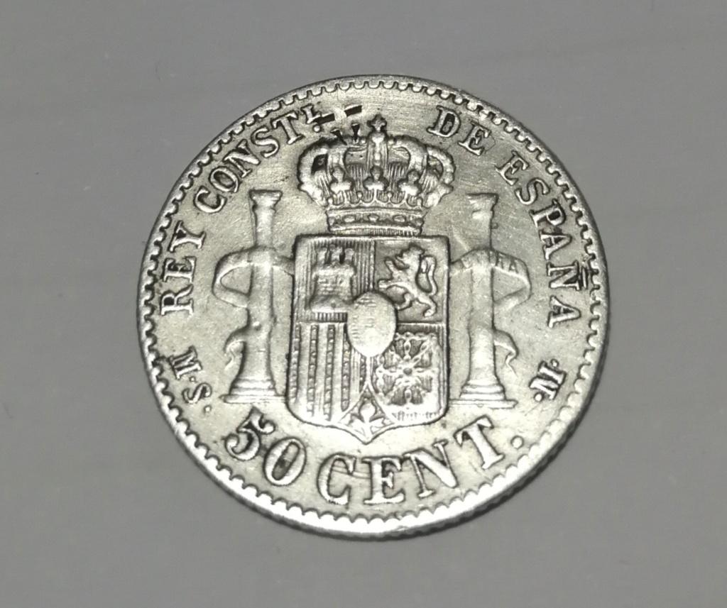 Contramarca o símbolo de coleccionista en 5 pesetas de Alfonso XII Img_2020