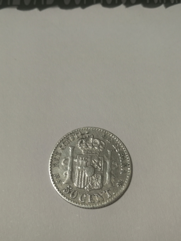 Contramarca o símbolo de coleccionista en 5 pesetas de Alfonso XII Img_2022