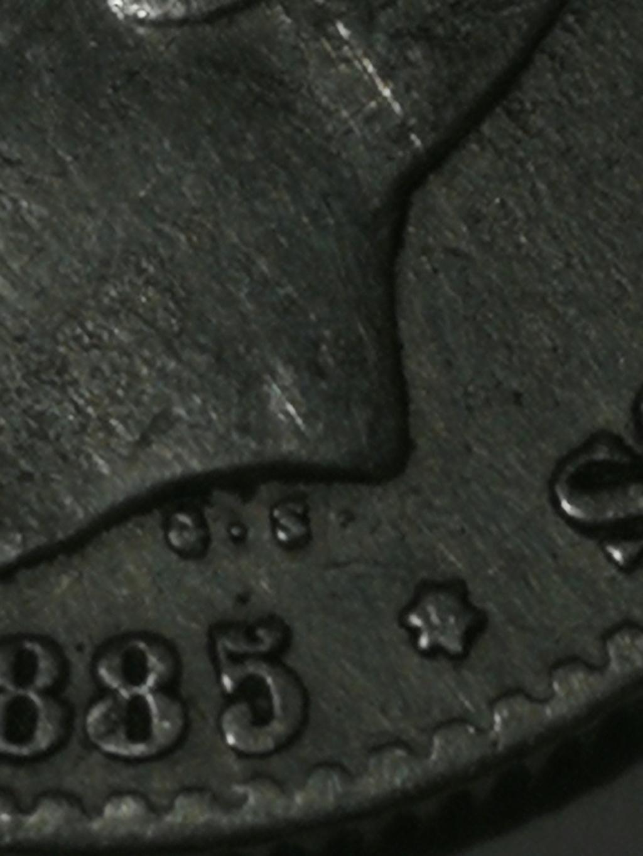 Contramarca o símbolo de coleccionista en 5 pesetas de Alfonso XII Img_2024