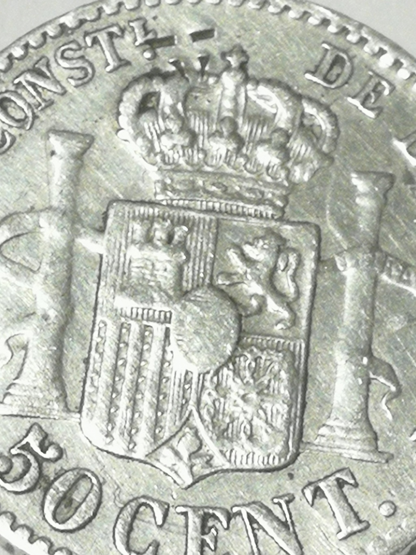 Contramarca o símbolo de coleccionista en 5 pesetas de Alfonso XII Img_2031