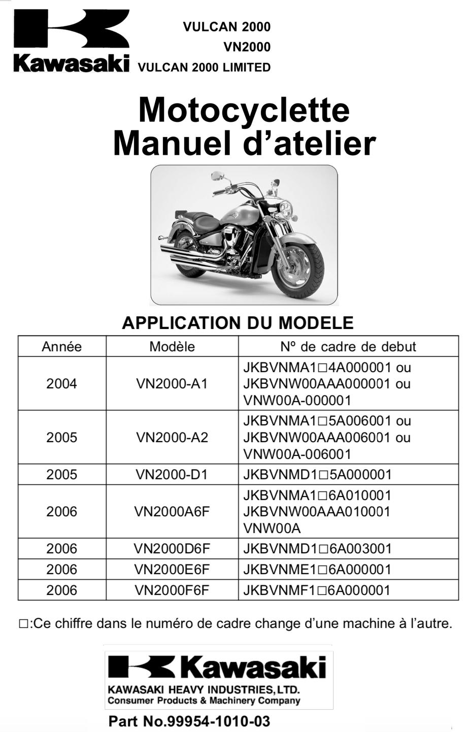 2000 VN - Revue Thechnique Manuel11