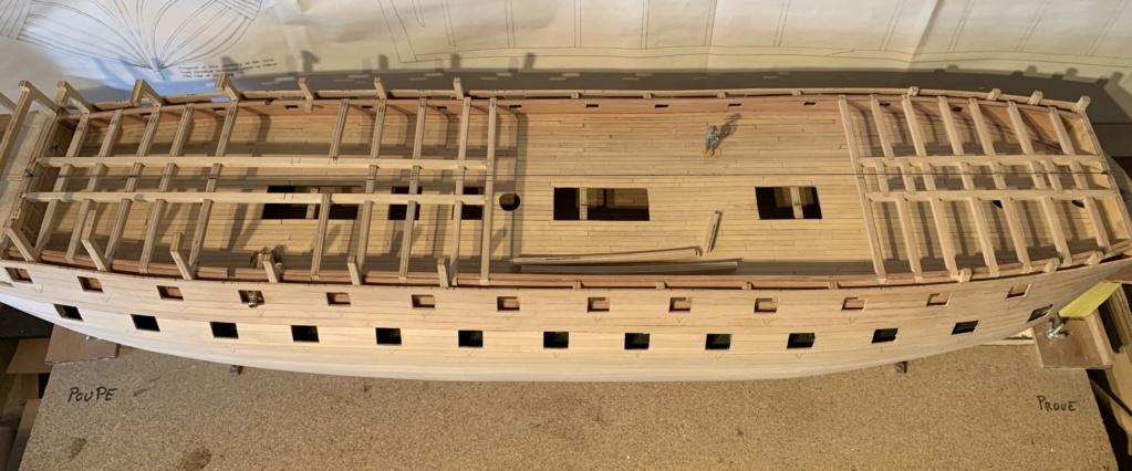 HMS AGAMEMNON au 1/64è de chez Caldercraft Avec quelques modifications... - Page 6 710a4110