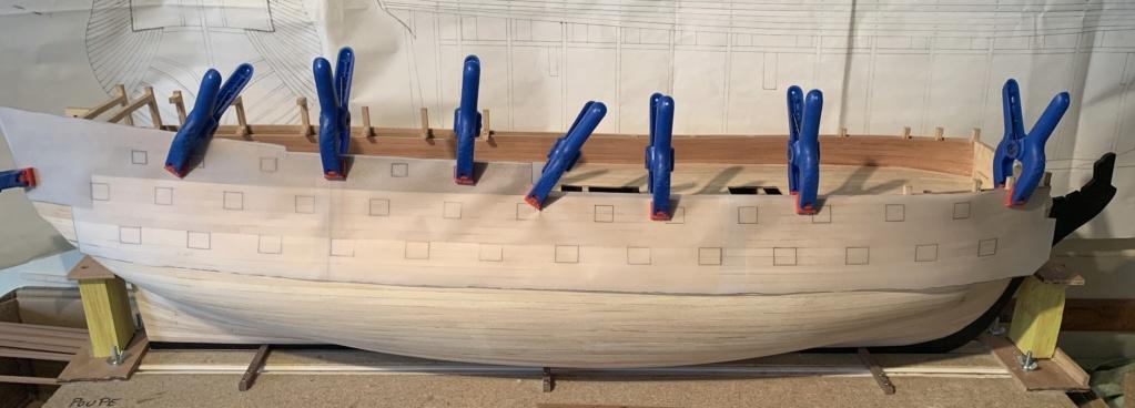 HMS AGAMEMNON au 1/64è de chez Caldercraft Avec quelques modifications... - Page 6 Bb529210