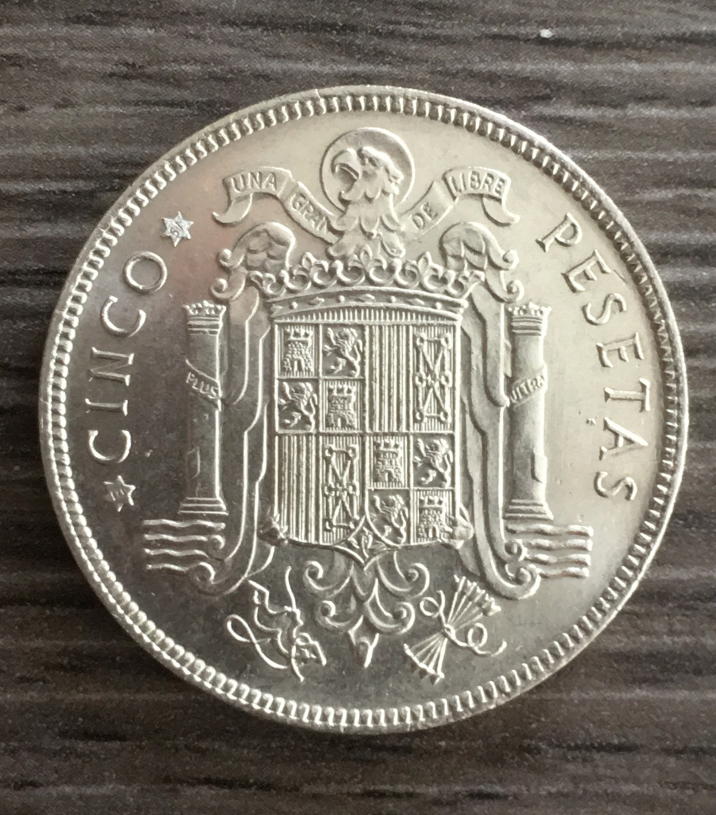 5 PESETAS 1949*E51 VERDADERA O FALSA 4e6e2f10