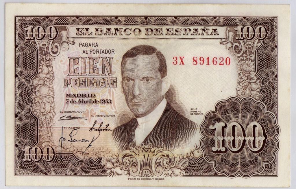 Investigación - Billetes de 100 pts 1953 Romero de Torres A29d4d10