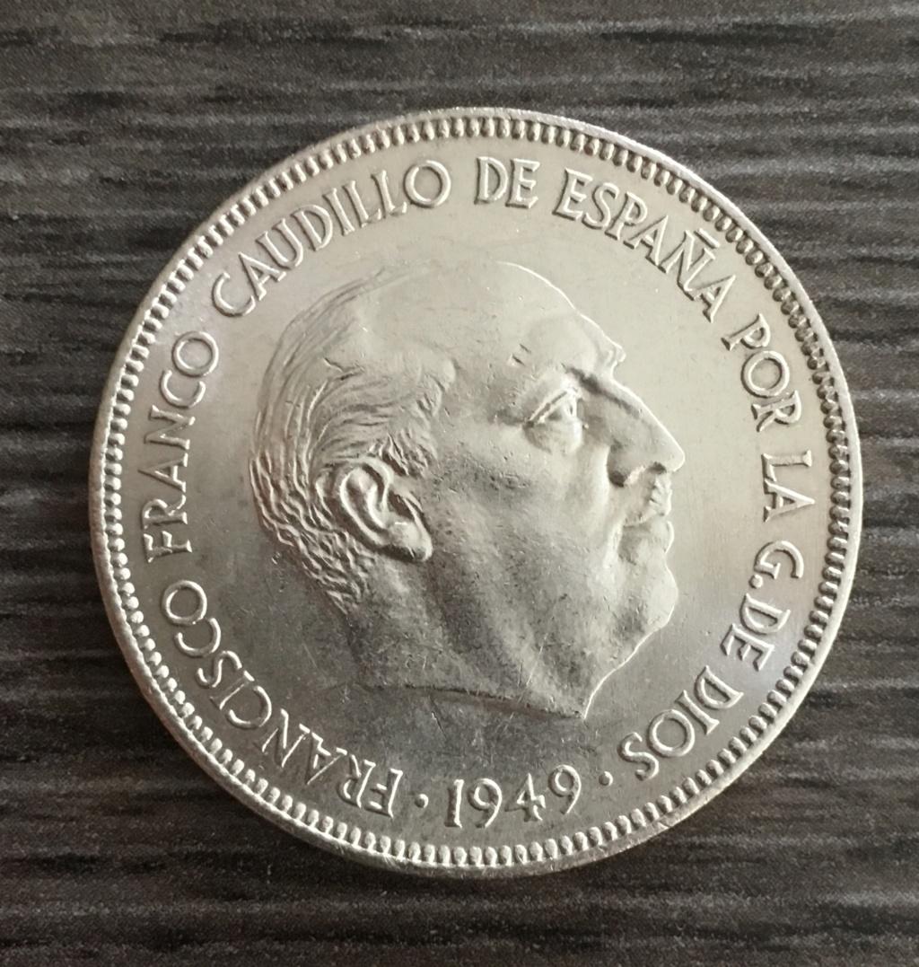 5 PESETAS 1949*E51 VERDADERA O FALSA Ae3fc810