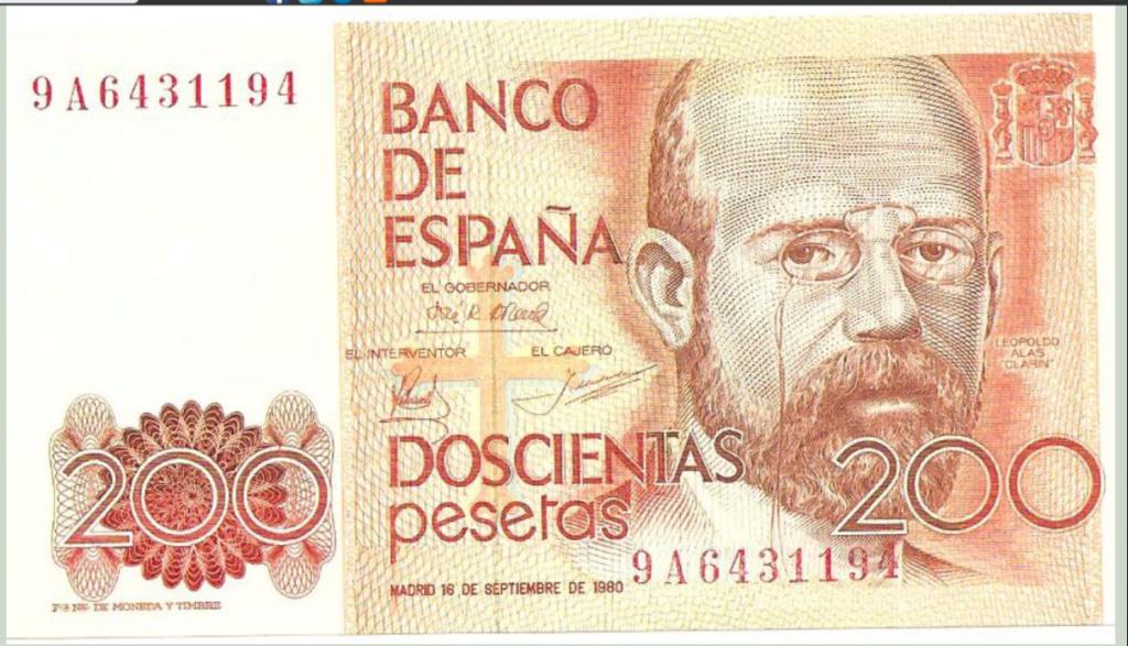 Número más bajo/alto de... 200 pesetas 1980 Serie 8 y 9 Fca77c10