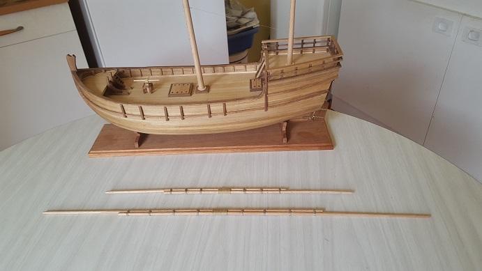 Reconstruction de la Nina (Christophe Colomb - 1492) Antenn27