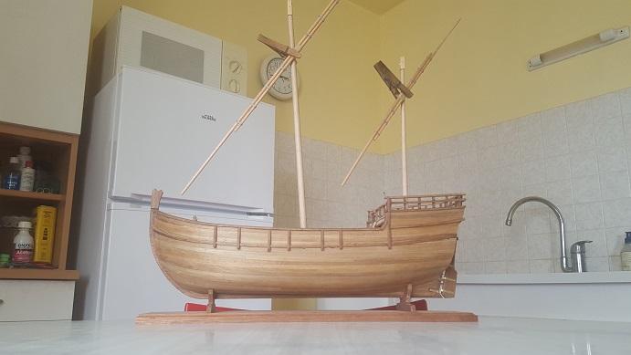 Reconstruction de la Nina (Christophe Colomb - 1492) Antenn29