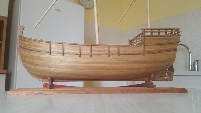 Reconstruction de la Nina (Christophe Colomb - 1492) Antenn30
