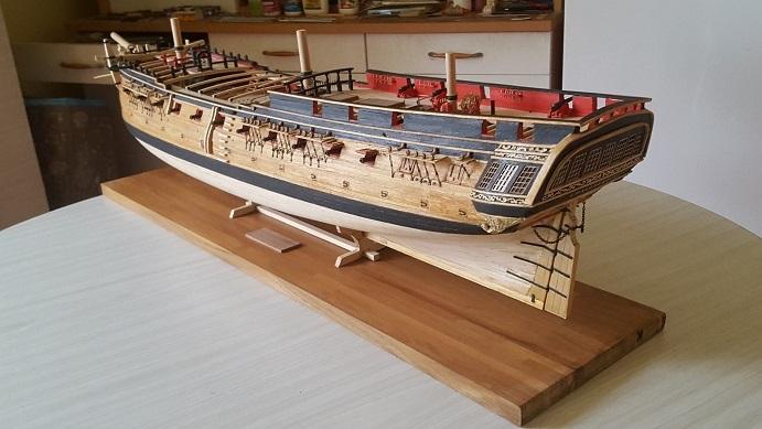 La Confederacy de 1772 au 1/64 par Model Shipways - Page 10 Bercea12