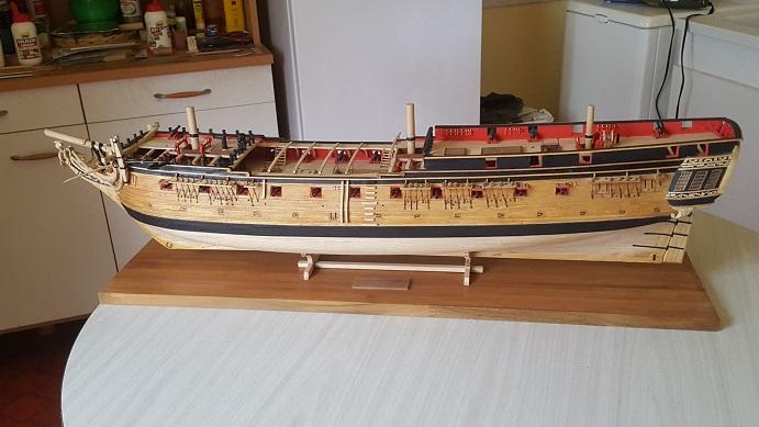 La Confederacy de 1772 au 1/64 par Model Shipways - Page 10 Bercea13