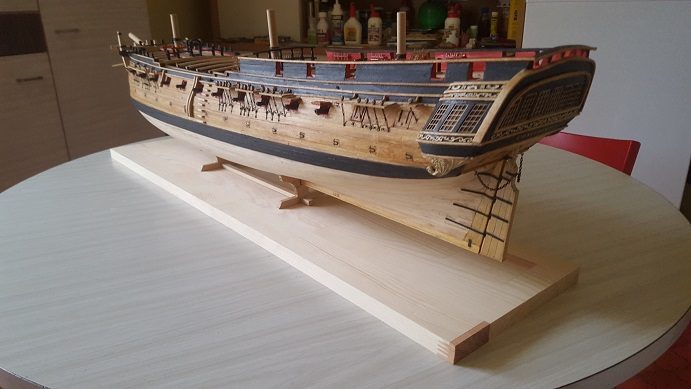 La Confederacy de 1772 au 1/64 par Model Shipways - Page 10 Bercea23