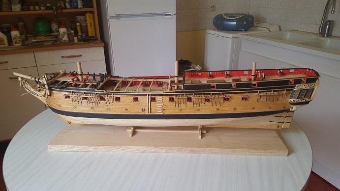 La Confederacy de 1772 au 1/64 par Model Shipways - Page 10 Bercea24