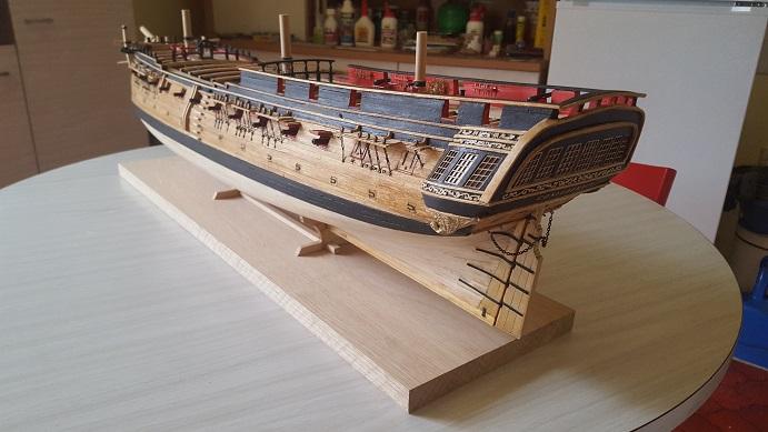 La Confederacy de 1772 au 1/64 par Model Shipways - Page 10 Bercea25
