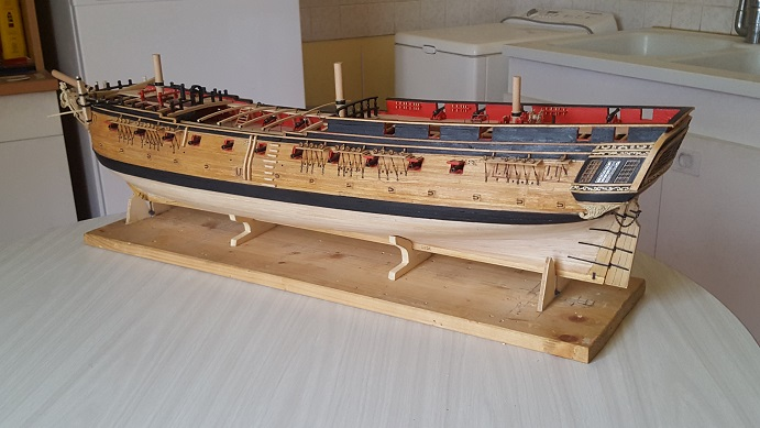 La Confederacy de 1772 au 1/64 par Model Shipways - Page 11 Bercea30