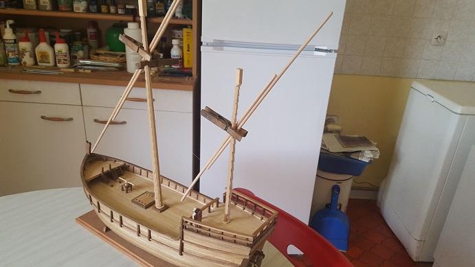 Reconstruction de la Nina (Christophe Colomb - 1492) Calcet38