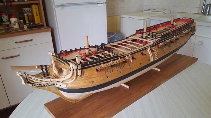 La Confederacy de 1772 au 1/64 par Model Shipways - Page 10 Cassur17