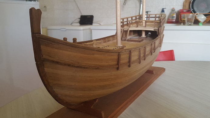 Reconstruction de la Nina (Christophe Colomb - 1492) Coque_24