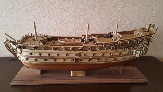 La Confederacy de 1772 au 1/64 par Model Shipways - Page 11 Longbo20