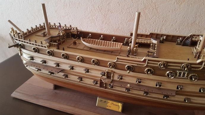 La Confederacy de 1772 au 1/64 par Model Shipways - Page 11 Longbo21