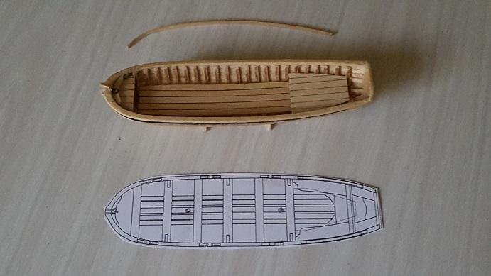 La Confederacy de 1772 au 1/64 par Model Shipways - Page 12 Pinass12