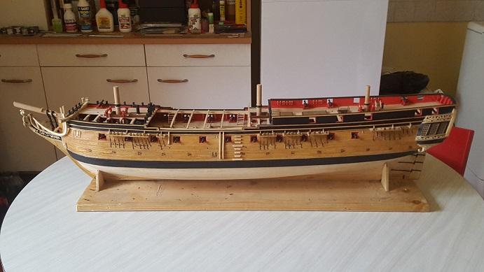La Confederacy de 1772 au 1/64 par Model Shipways - Page 10 Porte_23