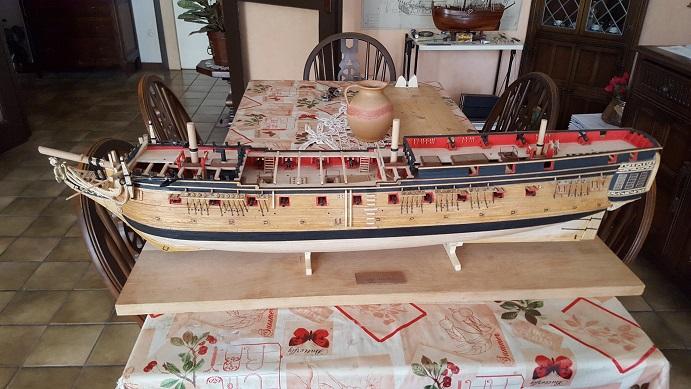 La Confederacy de 1772 au 1/64 par Model Shipways - Page 11 Suite_24
