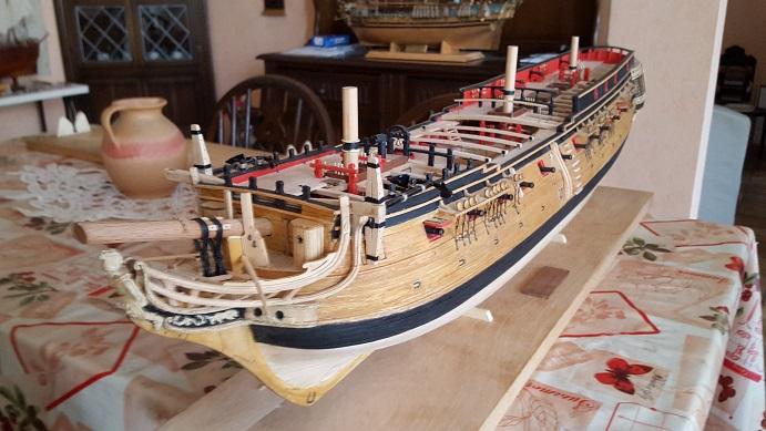 La Confederacy de 1772 au 1/64 par Model Shipways - Page 11 Suite_25