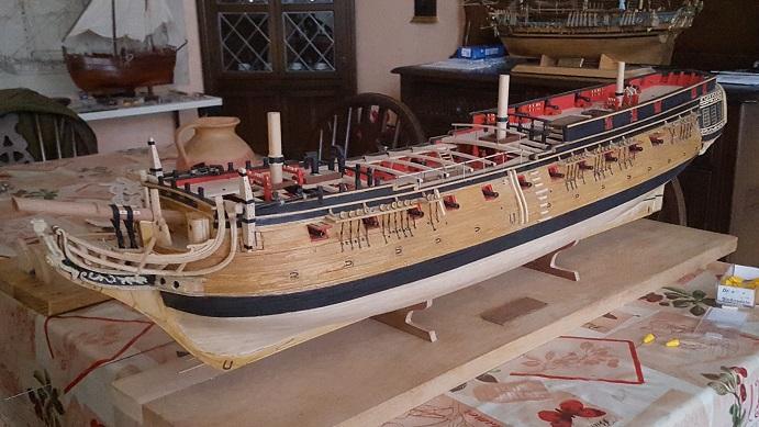 La Confederacy de 1772 au 1/64 par Model Shipways - Page 11 Suite_31